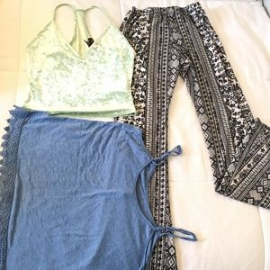 Bundle forever 21 Crop top with two free items